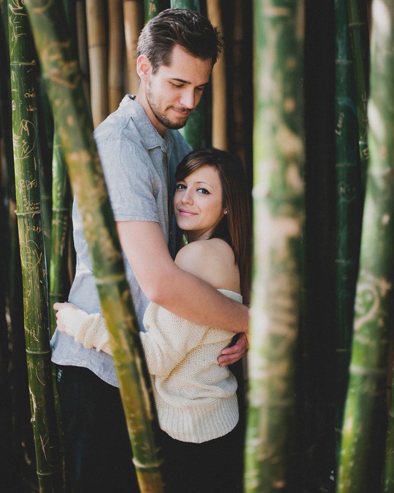 Fullerton Arboretum Wedding: Kat + Scott: Fullerton Arboretum Engagement