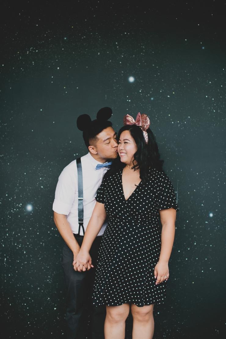 Disneyland Engagement Session