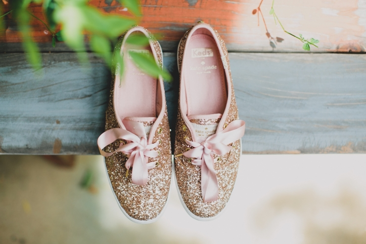 Kate Spade wedding sneakers