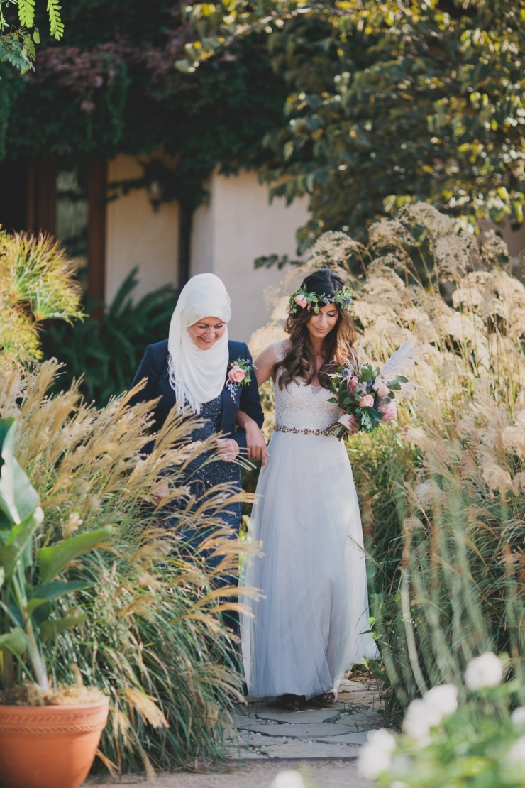Bohemian Ojai Estate Wedding