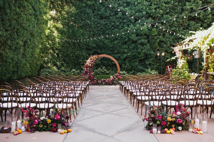 Franciscan Gardens Wedding