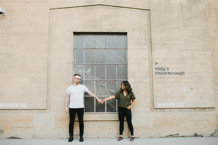 DTLA Engagement Session The Row