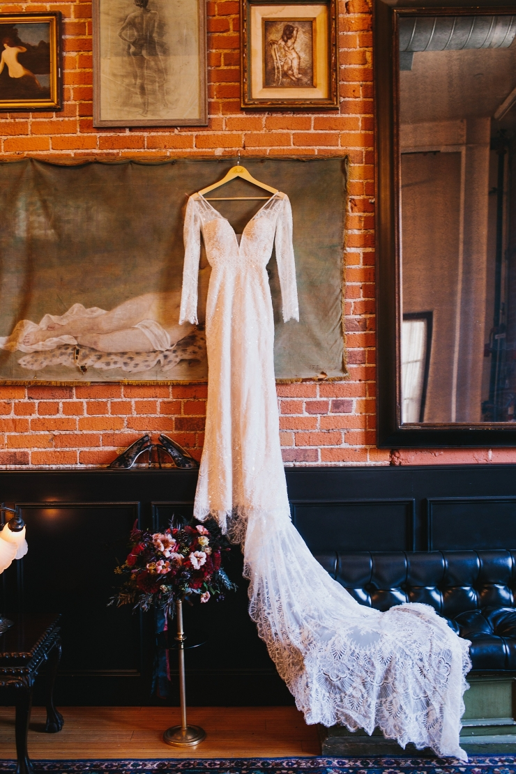 Halloween Wedding at Carondelet House