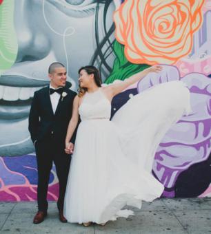 Alice + Romeo Millwick Wedding