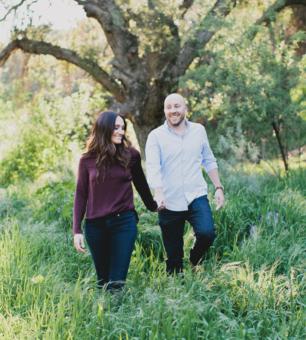 Kaira + Ryan Whiting Ranch Engagement