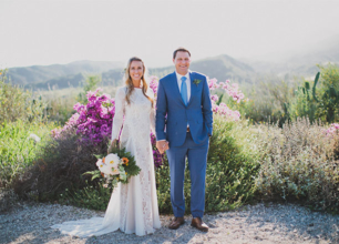 Alyssa + Brad Ojai, California Wedding