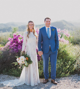 Alyssa + Brad Ojai, California Wedding